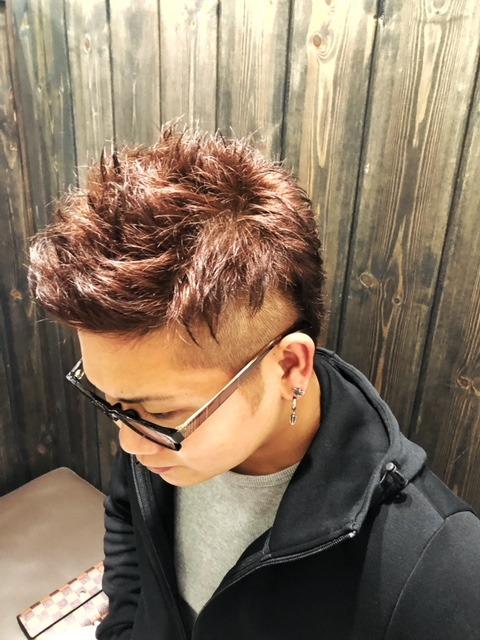 髪色も秋色に・・・
