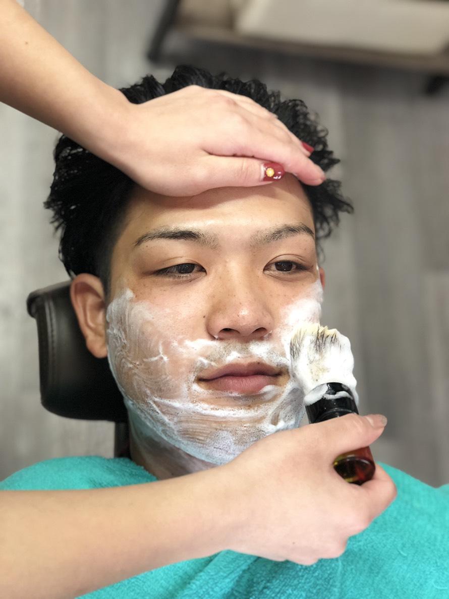 Barberといえばシェービング!!!