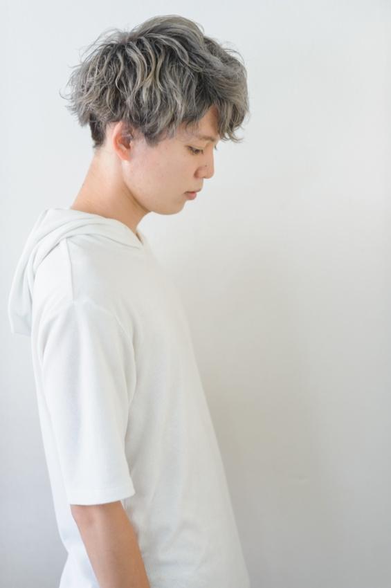 マッシュヘアが人気☆