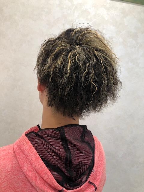 ファンキーでかっこいい髪形😏🌟